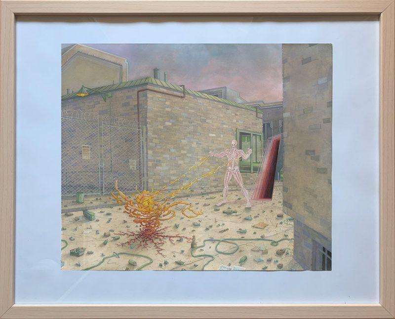 Michael Dandley - Outsider (Framed)