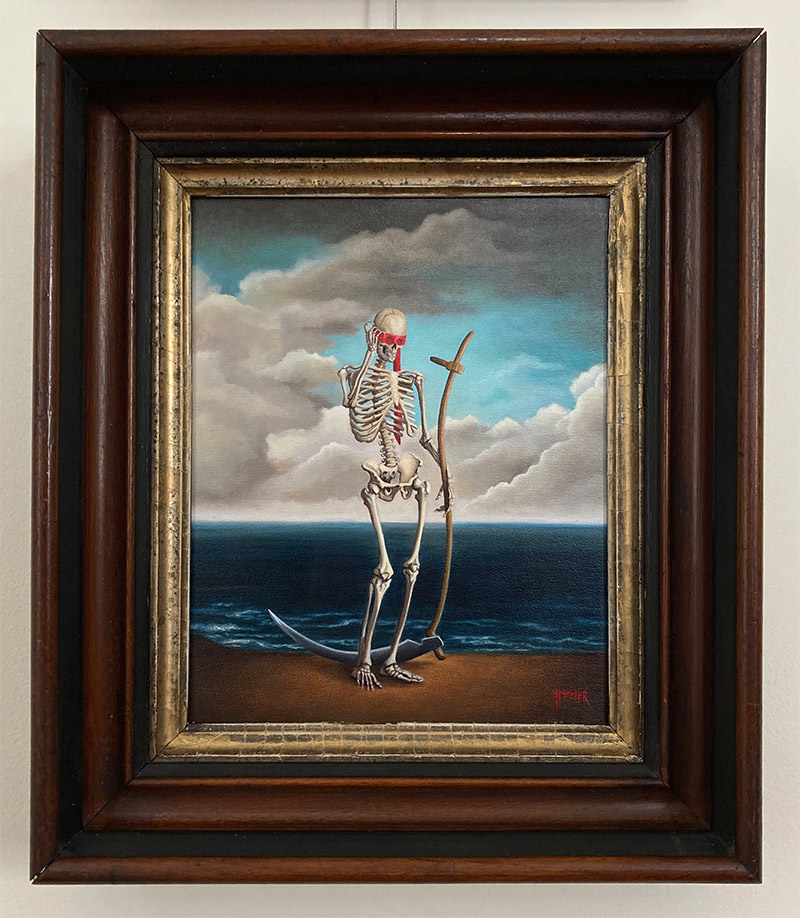 Michele Melcher - Cheated (Framed - Front)