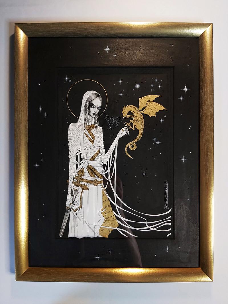 Orphne Acheron - TAMENESS I (Framed)