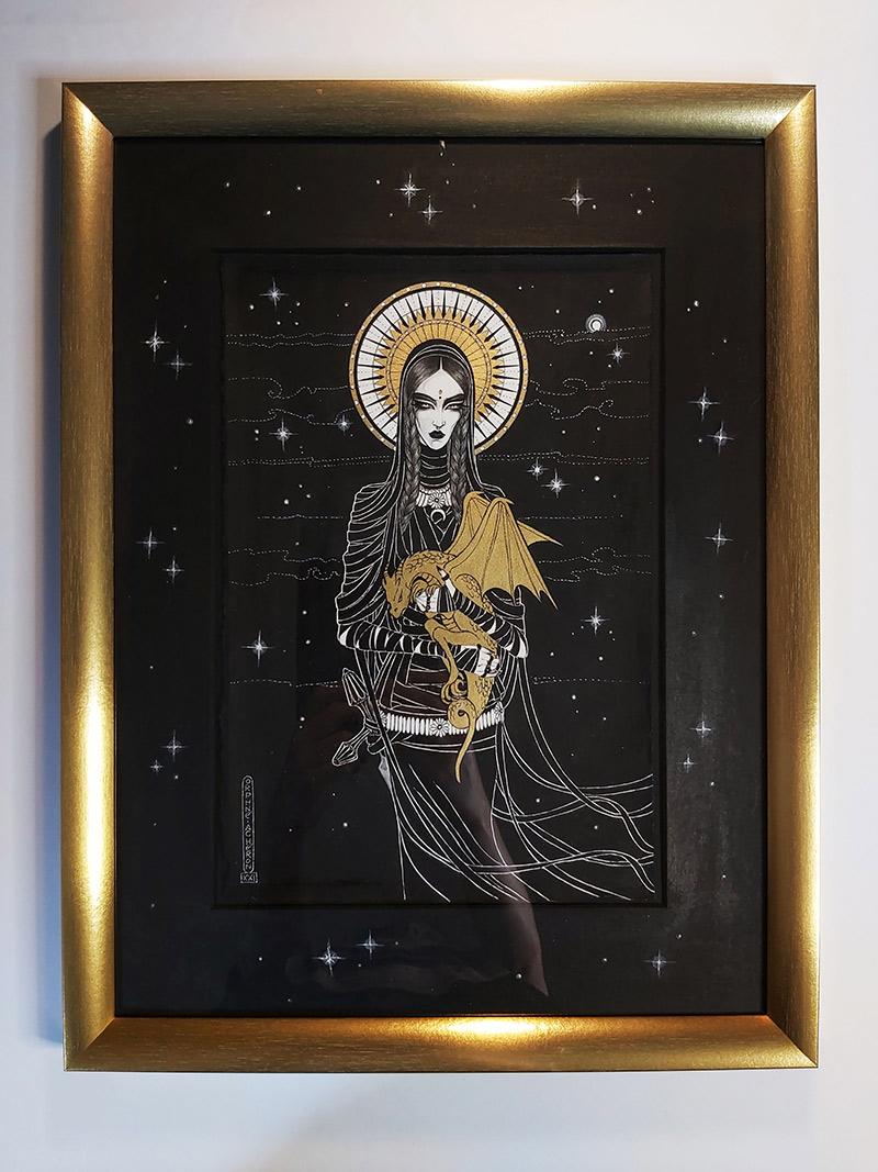 Orphne Acheron - TAMENESS II (Framed)