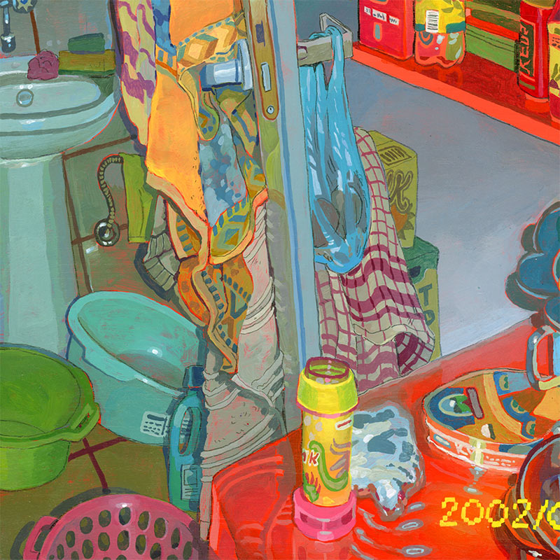 Savanna Judd - You're Home, Nothing's Changed II (Detail 2)