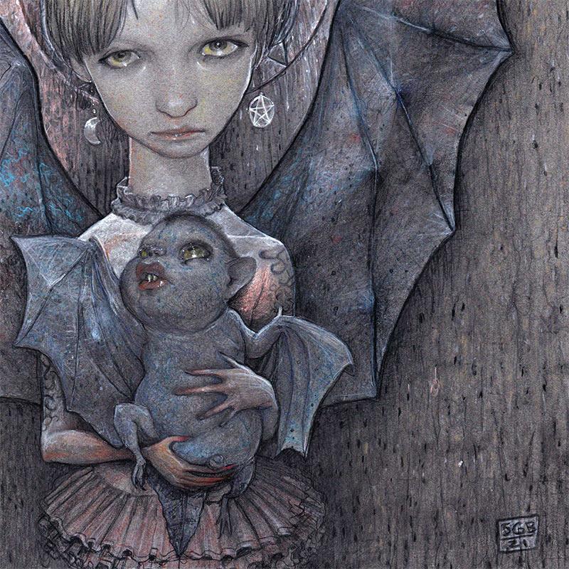Scott G. Brooks - Madonna and Child (Detail 2)