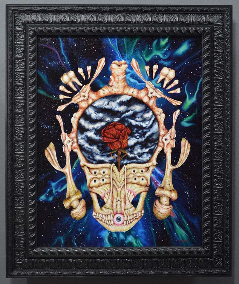 Tania Pomales - Portal of Thoughts, Giver of Truth (Framed)