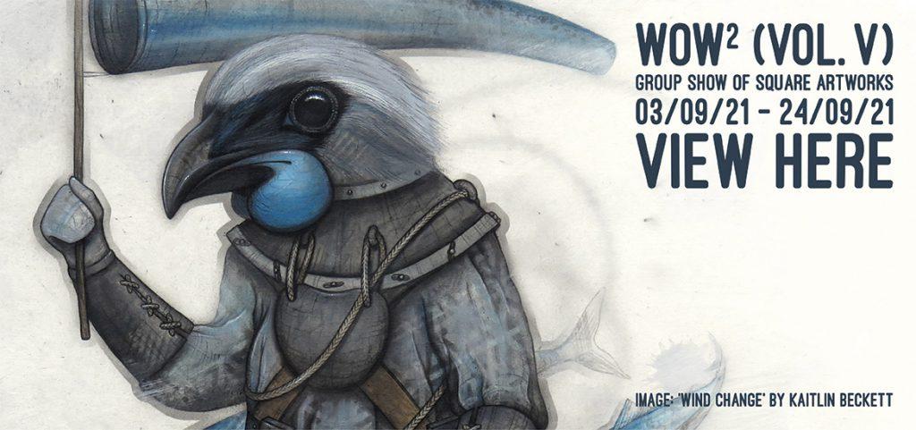 WOW² (Volume V) - Website Banner (Kaitlin Beckett)