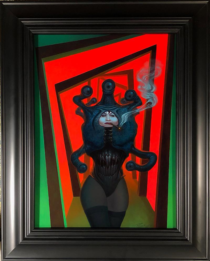 Alan Pollack - Calagari's Nemesis (Framed)