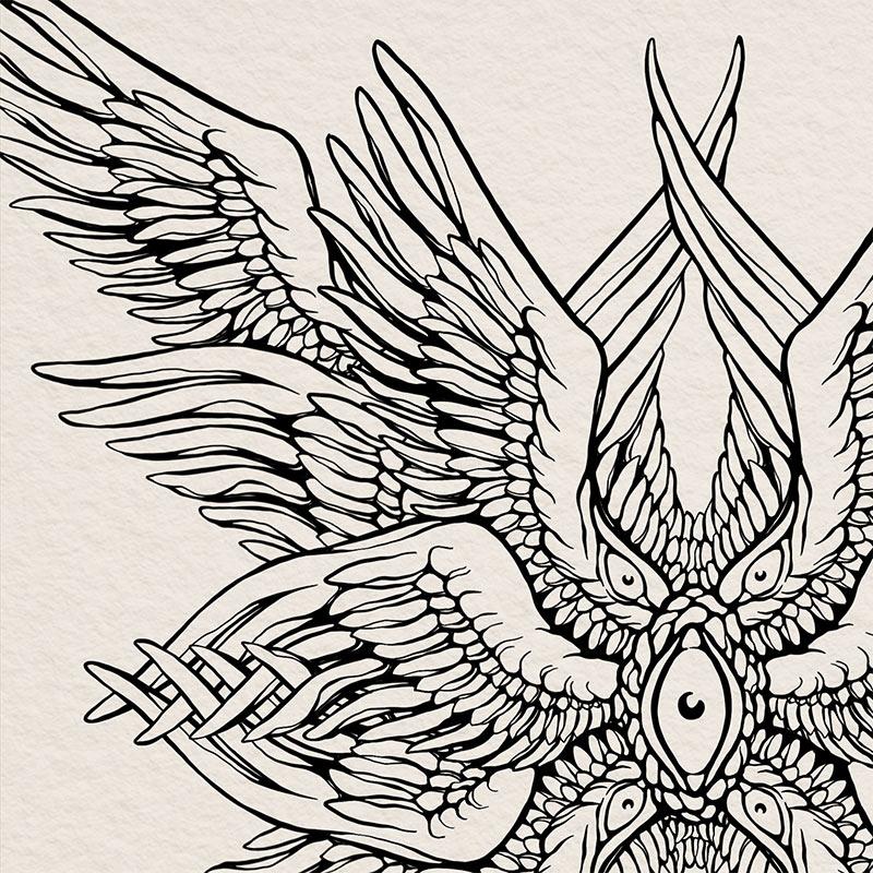 Carxlina Salas - Seraphim (Detail 1)