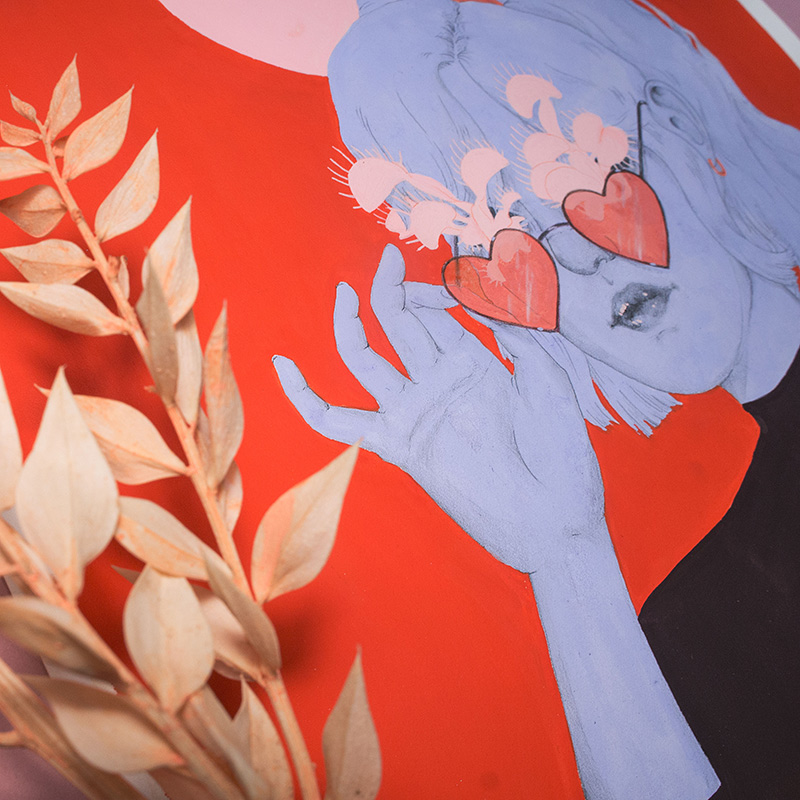 Kristin Siegel-Leicht - They Need Sun (Detail 2)