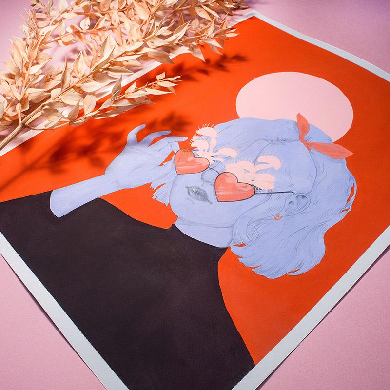 Kristin Siegel-Leicht - They Need Sun (Detail 3)