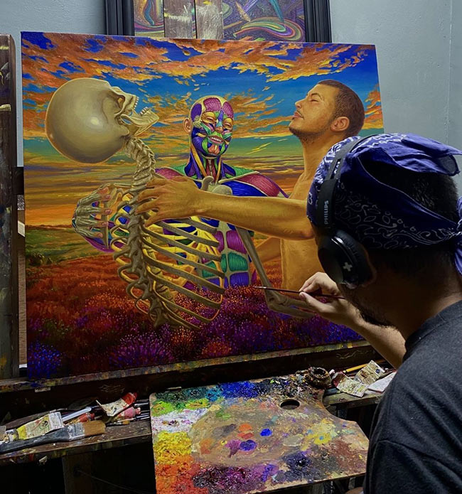 Marc Salamat - Outwit the Monster - WIP