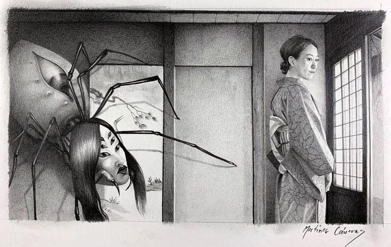 Martinez Canovas - A Japanese Ghost Story (Border)