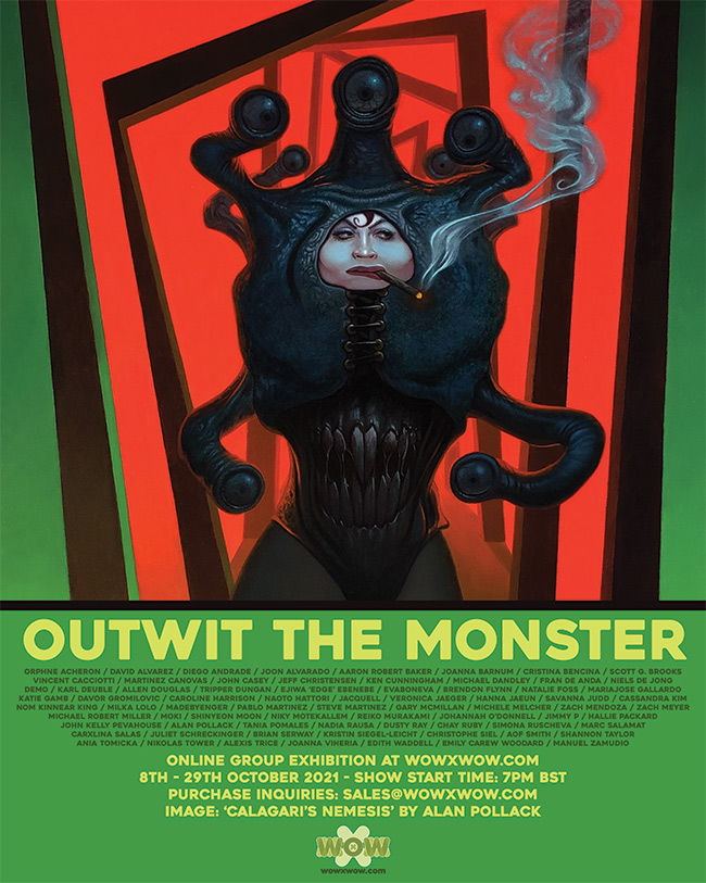Outwit the Monster - Flyer